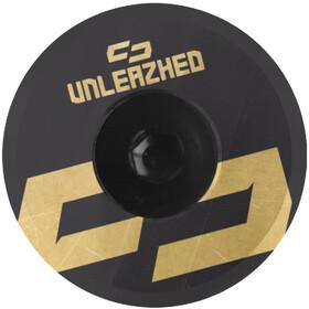 UNLEAZHED Unloose AL01 Aluminium Top Cap gold